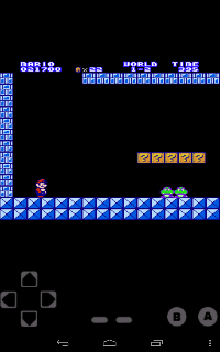 Screenshot Thumbnail / Media File 1 for Super Mario Bros. (World) [Graphic Hack by Flamepanther v2.0] (~Super Mario Brothers DX)